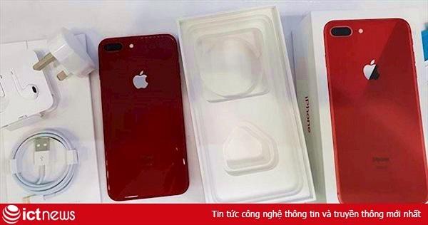 iPhone 8/8 Plus đỏ về nhiều, nhu cầu mua không cao