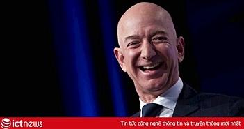 Cổ phiếu lên đỉnh, Amazon đạt giá trị 1,1 nghìn tỷ USD