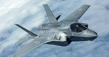 Tiêm kích F-35 Mỹ lượn trên bầu trời Syria ngay trước mắt quân đội Nga