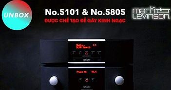 Ampli và đầu đọc Mark Levinson No.5805 & No.5101 - Bộ đôi đáng mua nhất series 5000