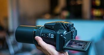 Trên tay và chụp thử  khả năng siêu zoom của Nikon Coolpix P900