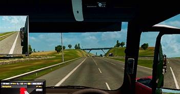 Thử học lái xe siêu trường siêu trọng bằng game mô phỏng
