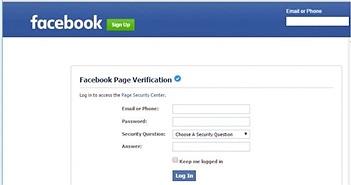 Cảnh giác trò mạo danh Facebook cướp tài khoản