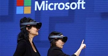 Microsoft trình làng kính thực tế ảo cạnh tranh với Facebook