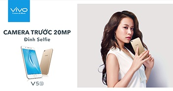 Smartphone Vivo V5s chính thức trình làng với giá 6.990.000 đồng