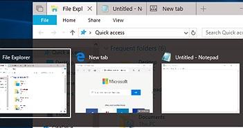 Windows 10 đã thay đổi cách thay đổi hoạt động của tổ hợp phím Alt+Tab