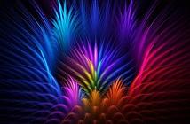 Bộ sưu tập hình nền đầy màu sắc theo phong cách trừu tượng