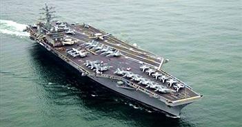 5 siêu tàu sân bay lớn nhất thế giới
