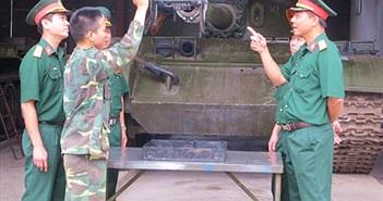 Sáng tạo kỹ thuật để huấn luyện, làm chủ vũ khí trang bị kỹ thuật