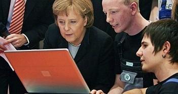 Tin tặc tấn công máy tính của nữ thủ tướng Đức