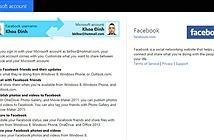 Ứng dụng, dịch vụ của Microsoft bị ngưng liên kết với Facebook