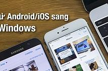 Hướng dẫn chép ảnh từ Android/iOS sang MacOS / Windows