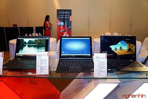 Lenovo ra mắt bộ tứ ThinkPad X1 siêu mỏng nhẹ tại Việt Nam