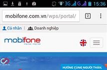 Hướng dẫn sử dụng trang chủ MobiFone giao diện mới