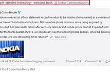 Meizu sẽ là đối tác sản xuất smartphone của Nokia?