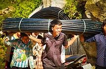Khởi công dự án Nước sạch cho em 2015