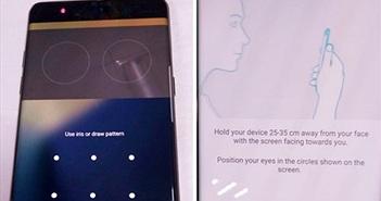 [Galaxy Note 7] Cận cảnh tính năng quét võng mạc trên Galaxy Note 7