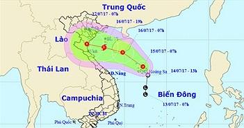 Áp thấp nhiệt đới khả năng thành bão, hướng Hải Phòng - Nghệ An