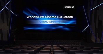 Samsung giới thiệu màn hình LED chiếu rạp đầu tiên trên thế giới