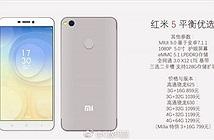 Xiaomi Redmi 5 rò rỉ hình ảnh mới nhất và thông số kỹ thuật