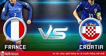 Đại sứ quán Pháp tổ chức xem truyền hình trực tiếp trận chung kết Pháp vs Croatia