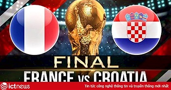 """Dự đoán kết quả tỉ số trận Chung Kết Pháp vs Croatia ngày 15/7 của """"tiên tri"""" mèo Cas"""