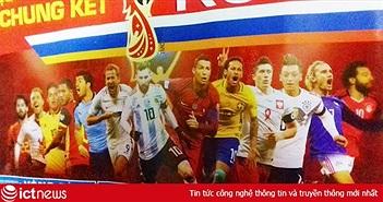 """Tờ lịch """"tiên tri"""" lại… ám đội tuyển Pháp trước trận chung kết Pháp vs Croatia"""