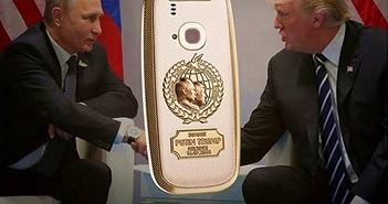 Phiên bản Nokia 3310 vàng 24K đánh dấu cuộc gặp lịch sử Trump-Putin