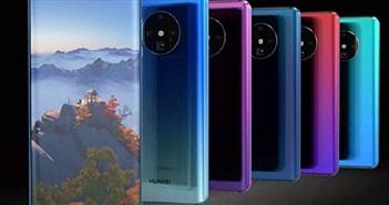 """Huawei Mate 30 Pro lộ diện: Camera cực khủng, thiết kế """"ngoạn mục"""""""