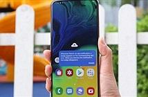 Trên tay Galaxy A80 có camera trượt xoay