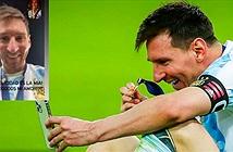 Soi chiếc smartphone được Messi dùng để gọi cho vợ con