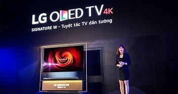 """LG ra mắt TV OLED """"dán tường"""" mỏng nhất thị trường, giá từ 300 triệu"""
