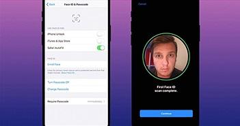 Cách khai báo Face ID cho Apple Pay trên iPhone X