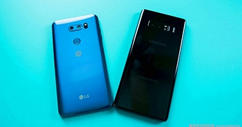 5 điểm vượt trội của LG V30 mà Galaxy Note 8 không có