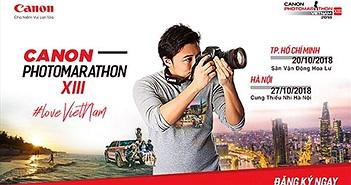 """Canon Photomarathon 2018: """"sống với điều mình yêu"""""""