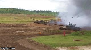 """Cực sướng mắt xem xe tăng T-72B3M vừa """"bay"""" vừa nã pháo trên không"""