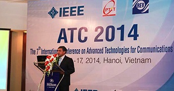 Khai mạc Hội nghị Công nghệ tiên tiến trong truyền thông 2014