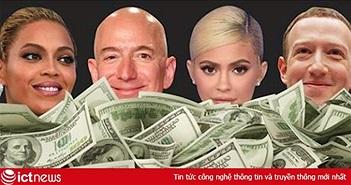 Những tỷ phú công nghệ như Jeff Bezos, Mark Zuckerberg kiếm được bao nhiêu tiền trong vòng 1 giờ?