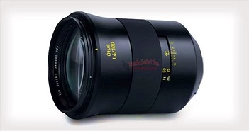 Lộ những bức ảnh đầu tiên của ống kính Zeiss Otus 100mm f1.4