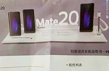 Ngoài 3 camera như V40, Huawei Mate 20 có thêm bút stylus như Note 9
