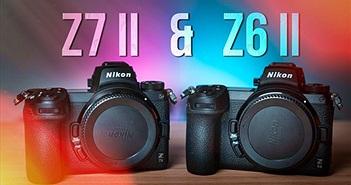 Nikon Z6 II và Z7 II ra mắt: quay video 4K/60p, khe cắm thẻ kép, giá tốt