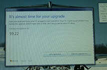 Microsoft ép buộc máy tính Windows 7/8 phải lên Windows 10
