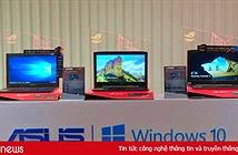 Asus cài đặt Windows 10 bản quyền cho mọi máy tính xách tay bán tại Việt Nam