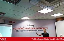 """Bkav chỉ cách mặt nạ 3D """"qua mặt"""" cơ chế an ninh trên iPhone X của Apple"""