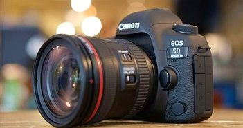 Canon cán mốc sản xuất 90 triệu máy ảnh EOS và 130 triệu ống kính rời EF