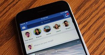 Facebook hợp nhất Messenger Day vào Facebook Stories