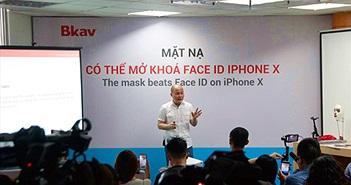 Thực hư việc Bkav đánh lừa công nghệ Face ID trên iPhone X
