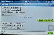 Đà Nẵng: Sử dụng tin nhắn để biết lịch trình xe buýt công cộng