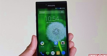Đánh giá smartphone Philips S398
