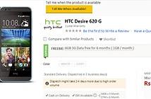 HTC Desire 620G âm thầm ra mắt tại Ấn Độ